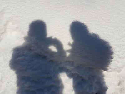 Snow selfi