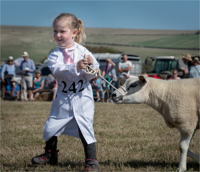 Showtime for young farmer