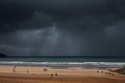 Storm over Woolacombe