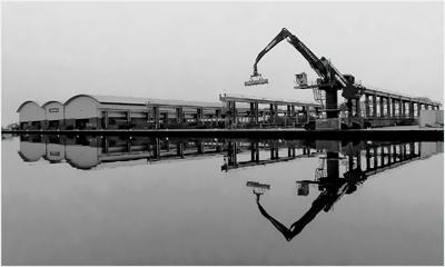 Shoreham Harbour Crane