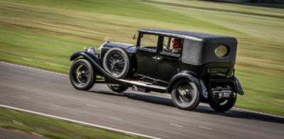 Vintage Bentley Race Car